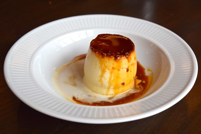 Creme Caramel at Cote in Canterbury