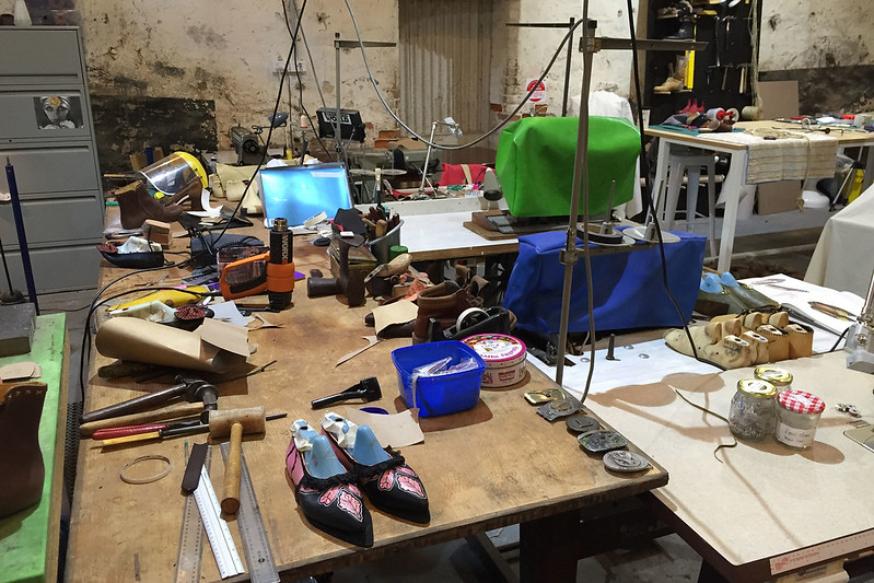 Shoe making, The Jam Factory