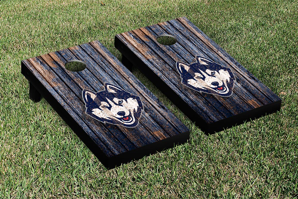 Connecticut Huskies Weathered Version