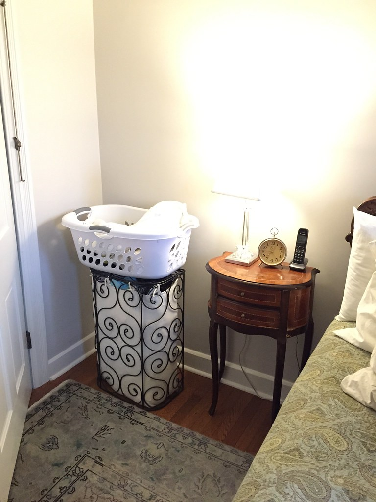 . The Beginnings of a Custom Pre Sorted Laundry Hamper   Old Town Home