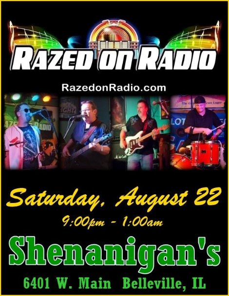Razed On Radio 8-22-15