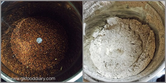 Sprouted Ragi powder for Babies - step 6
