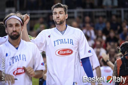 andrea bargnani, Nazionale Maschile Italia 2015