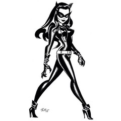 Catwoman by Bruce Timm. #comics