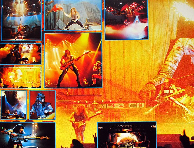 IRON MAIDEN LIVE AFTER DEATH 2LP + BOOKLET