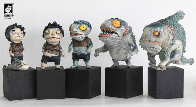 《1000Tentacles創作團隊》 STGCC 2015玩具展覽的最新作品!