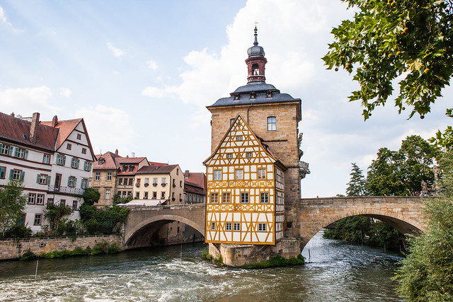 Bamberg. Upper Franconia, Bavaria, Germany