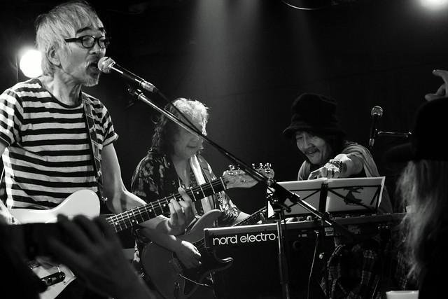 ファズの魔法使い live at Outbreak, Tokyo, 29 Sep 2015 - jam with Hideto Takenaka. 275