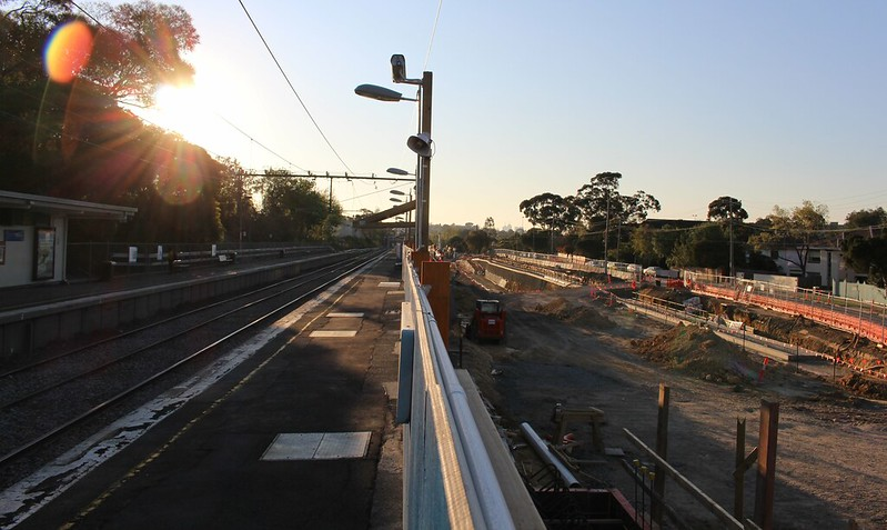 Level crossing removal works, Gardiner