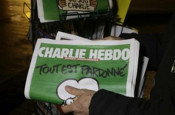 El sobreviviente 'Luz' se despide de 'Charlie Hebdo'
