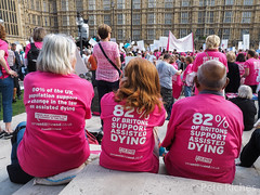 Dual Yes and No protest against Assisted Dying Bill - 16.01.2015 -9110079.jpg