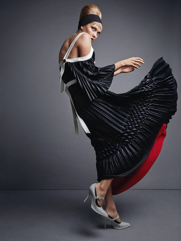 Карли Клосс — Фотосессия для «Vogue» UK 2015 – 9