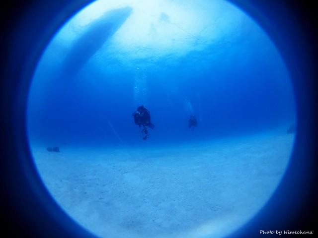 今日も竹富島はブルーな感じ♪