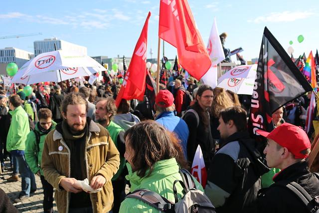 Demo: Stop TTIP & Ceta 10.10.2015, Berlin