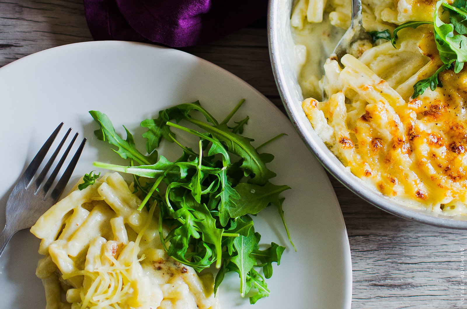 Mac & Cheese aux trois fromages