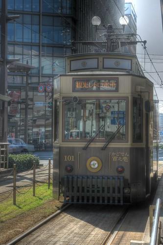 Tramcars at Kagoshima on OCT 24 (31)
