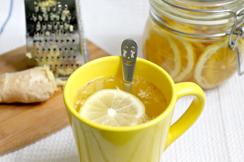 Honey lemon tea 2