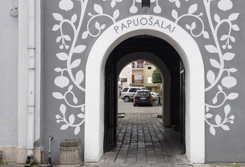 Gate - Kowno - Kaunas, Lithuania
