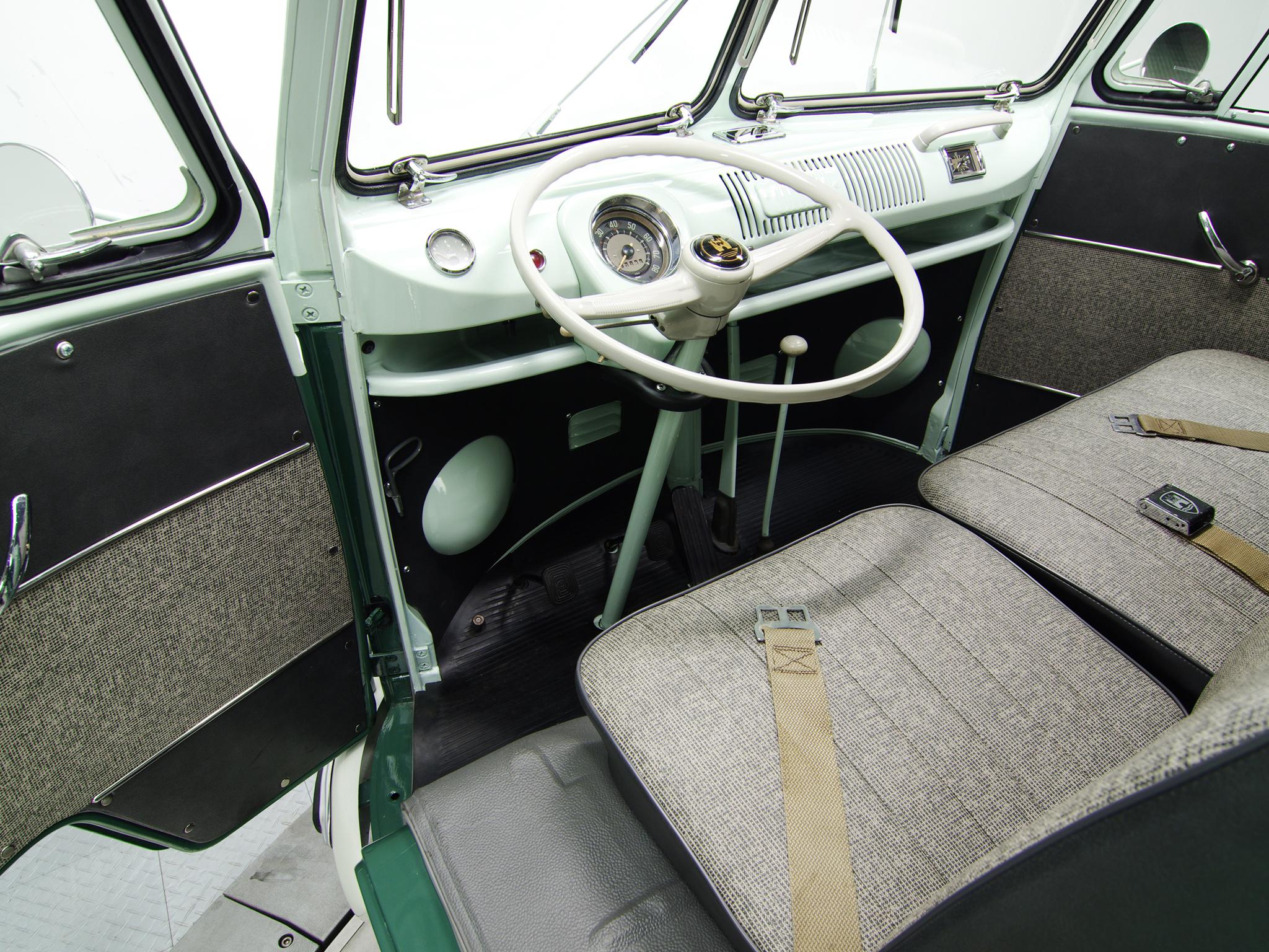 Салон Volkswagen T1 Deluxe Bus. 1958 - 1966 годы