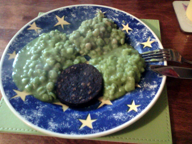 Mushy peas throw-down