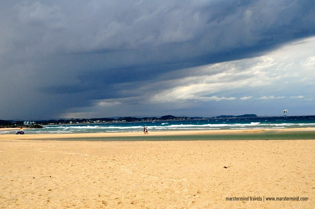Gloomy Weather at Coolangatta