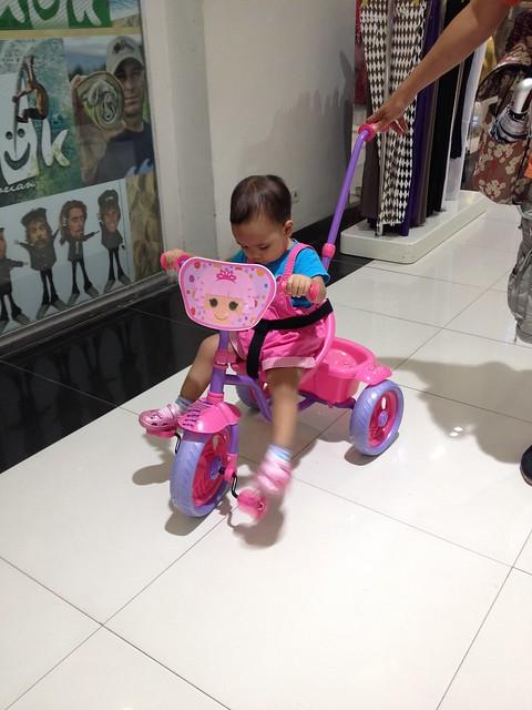 Nati's first bike