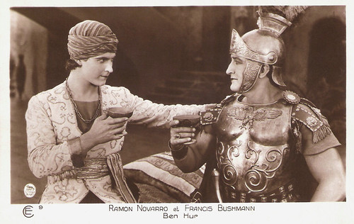 Ramon Novarro and Francis X. Bushman in Ben-Hur: A Tale of the Christ (1925)