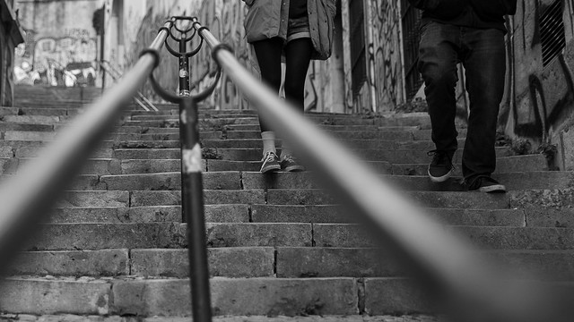 Old handrail