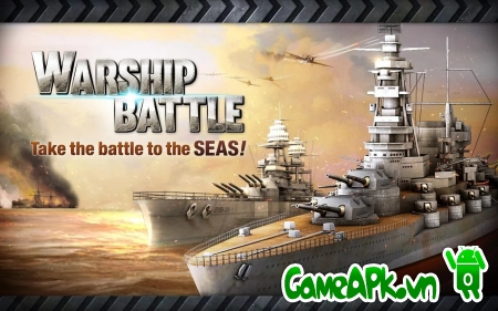 WARSHIP BATTLE:3D World War II v1.1.4 hack vàng cho Android