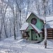log-cabin-winter by northernedgealgonquin