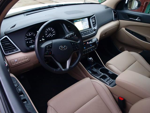 2016 Hyundai Tucson Limited 1.6T AWD