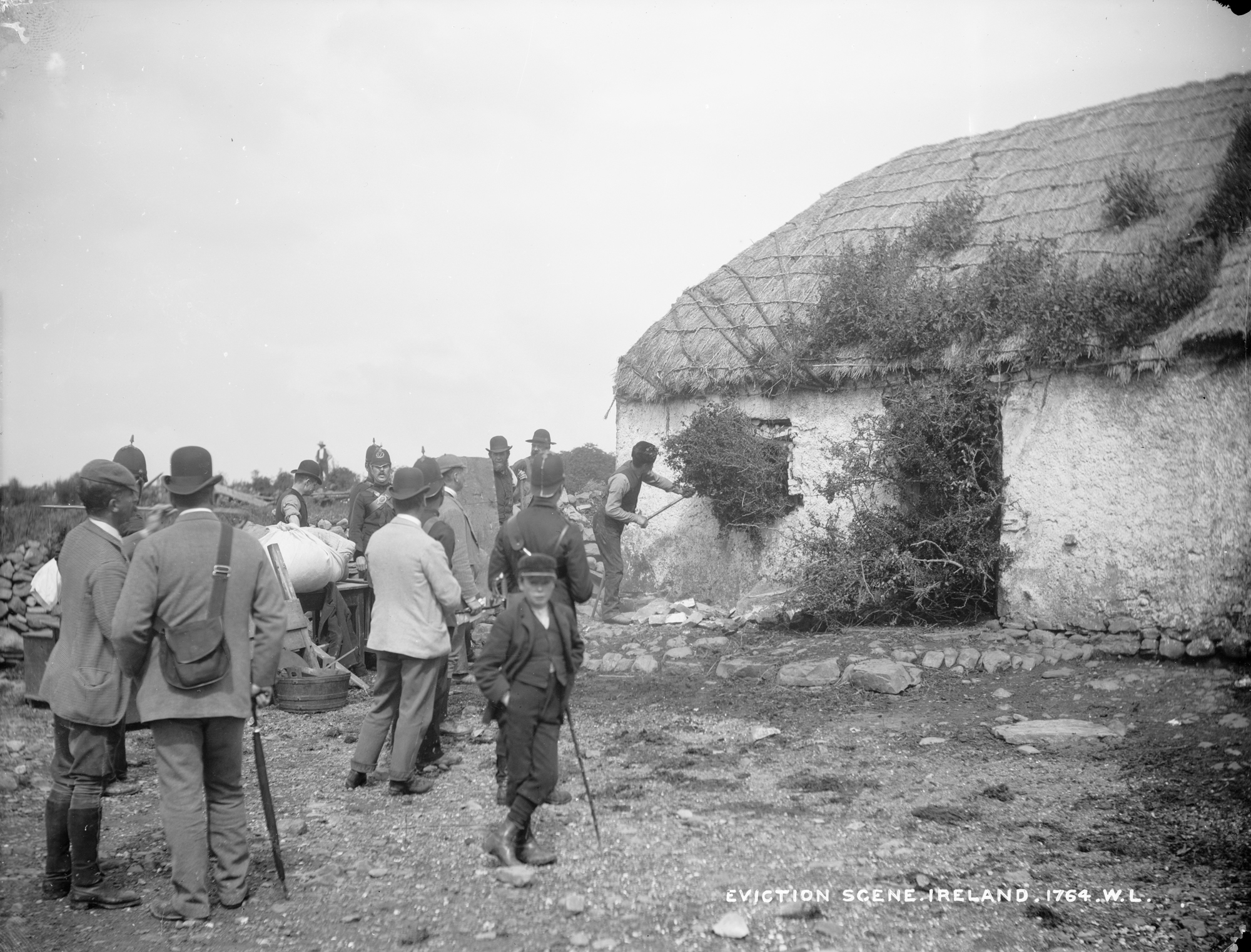 Eviction of Michael Connell, Moyasta, Co.Clare