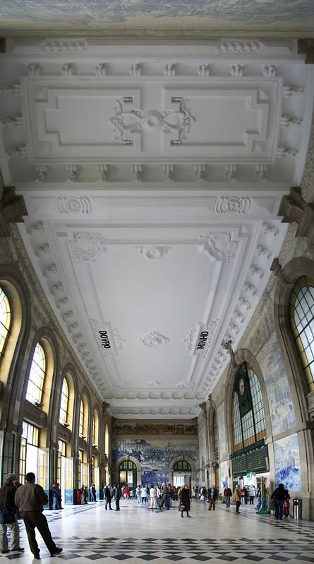 Estação de São bento, Porto 2007