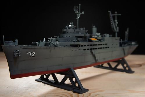 USS Pine Island Model