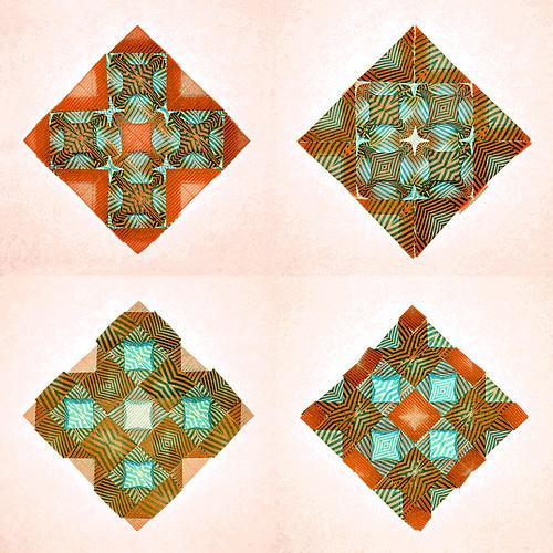 Molecule-blocks-tessellation (Marjan Smeijsters)