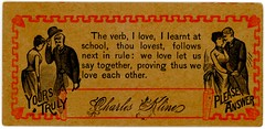 """I Learned the Verb """"Love"""" at School"""