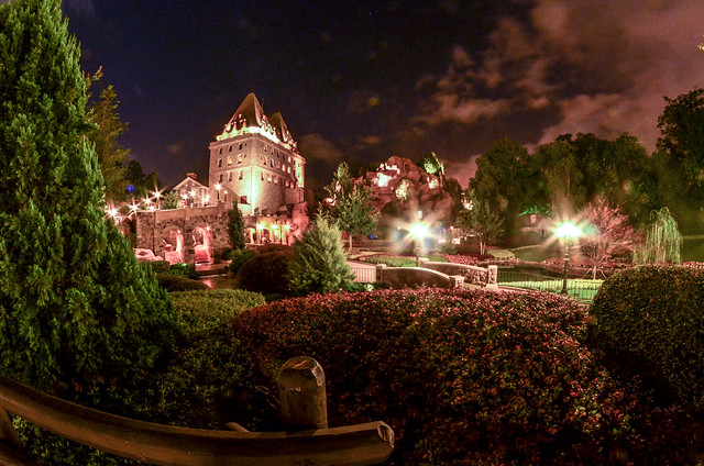 Canadian Castle night