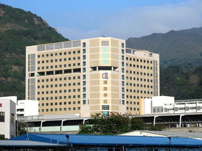 香港浸會大學國際學院石門校園(photo via cc Wikimedia Commons user WiNG)