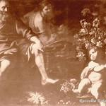 Ariccia Palazzo Chig L`Inverno di M. Nuzzi detto Mario de` Fiori con figure di B. Mei