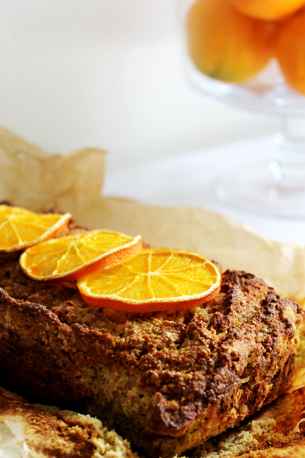 orange walnut ginger loaf