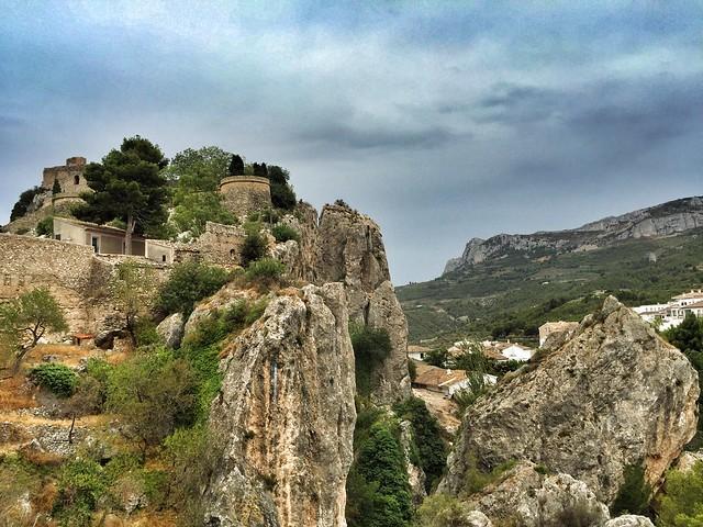 El Castell de Guadalest (Alicante, España)