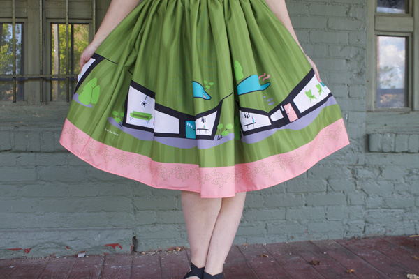 pinup skirt