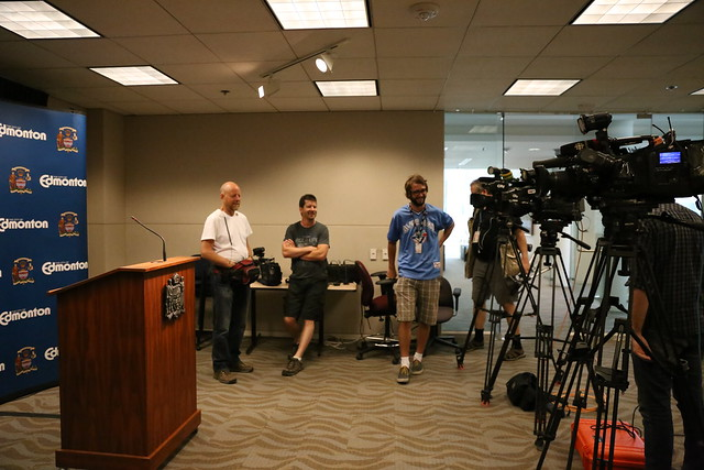Media Room at City Hall