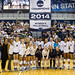Women Volleyball 2014 Champions Banner Raising