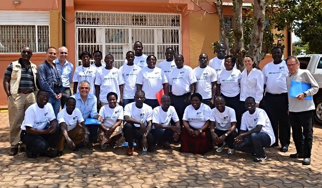 IFAD-EC delegation visit to ILRI Uganda