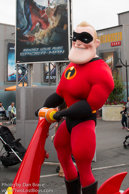 The Incredibles Hit the Road