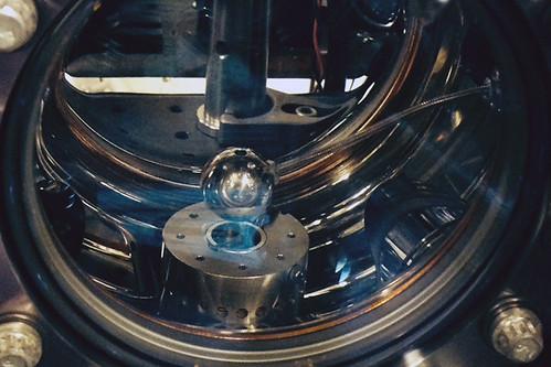 Cámara de vacío del interferómetro
