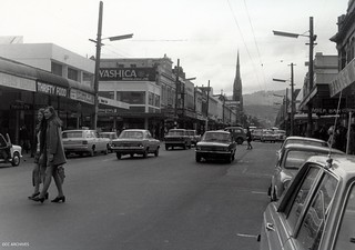 George Street, near intersection of Hanover Street, 1972