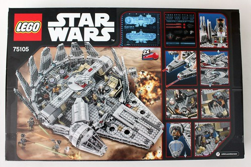 LEGO Star Wars: The Force Awakens Millennium Falcon (75105)