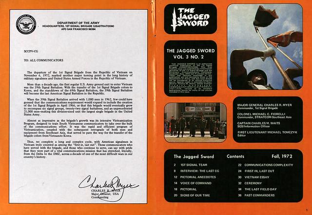 THE JAGGED SWORD - Fall 1972 (2) Final Vietnam Edition